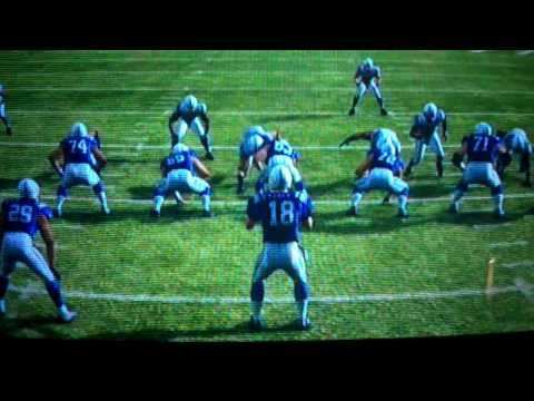 Nice run by Joseph Addai in Madden 11 (Xbox 360)
