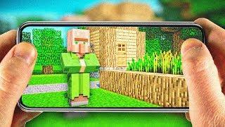 Майнкрафт ПЕ ВЫЖИВАНИЕ #5 — НАШЁЛ ДЕРЕВНЮ — Minecraft Pocket Edition (PE)