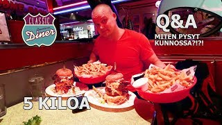 CLASSIC AMERICAN DINER - Big Tower haasteannos TUPLANA + Q&A