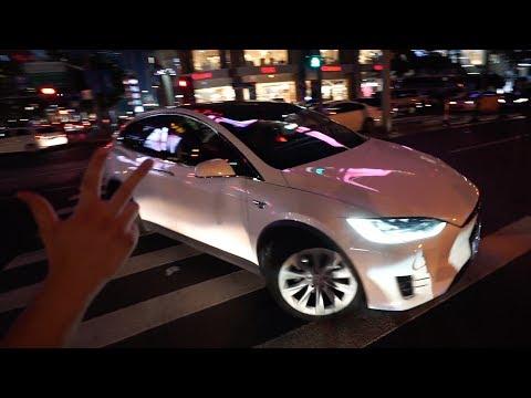 Tesla-Challenge in Shanghai!