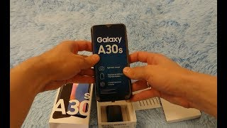 Выбрать Бюджетный Смартфон Самсунг Samsung Galaxy A30s. Обзор, Распаковка, Тест Антуту, Камера. -