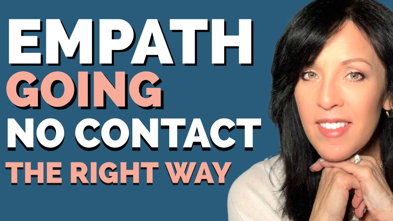 GOING NO CONTACT 😮 EMPATHS and CODEPENDENTS NEED BOUNDARIES
