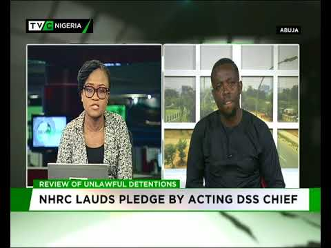 NHRC lauds pledge by acting DSS chief