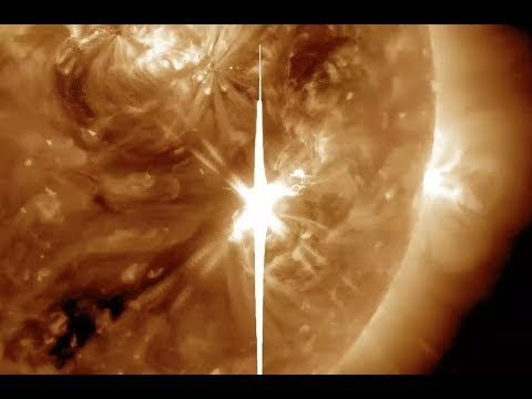 Largest Solar Flare In A Decade