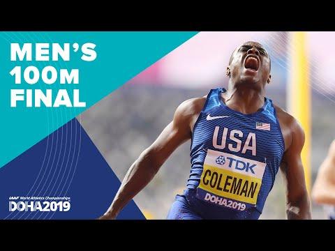 Men's 100m Final | World Athletics Championships Doha 2019