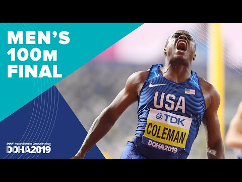 Men's 100m Final | World Athletics Championships Doha 2019