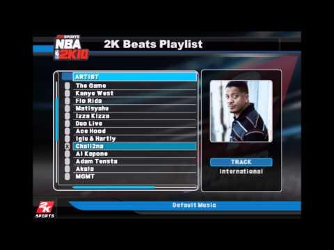 Chali 2na - International (NBA 2K10 Edition)