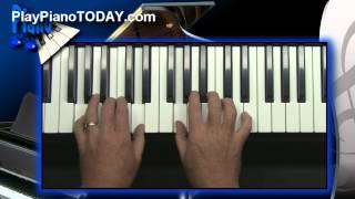 Piano Lessons - How to create solos on the piano or keyboard