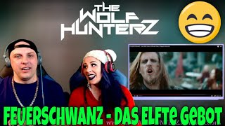 FEUERSCHWANZ - Das Elfte Gebot (Official Video)  Napalm Records   THE WOLF HUNTERZ Reactions