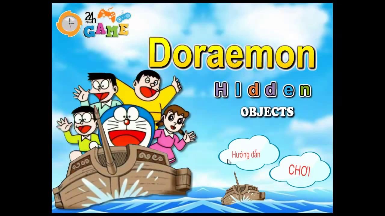 Game Doremon  Truy tìm vật chứng Game 24h