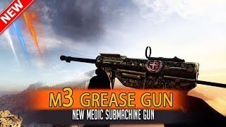 🎮 Battlefield V M3 grease gun & M3 Grease Gun Suppressed Gameplay