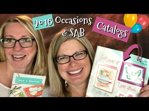 Stampin Up Occasions & Sale-a-bration Catalog