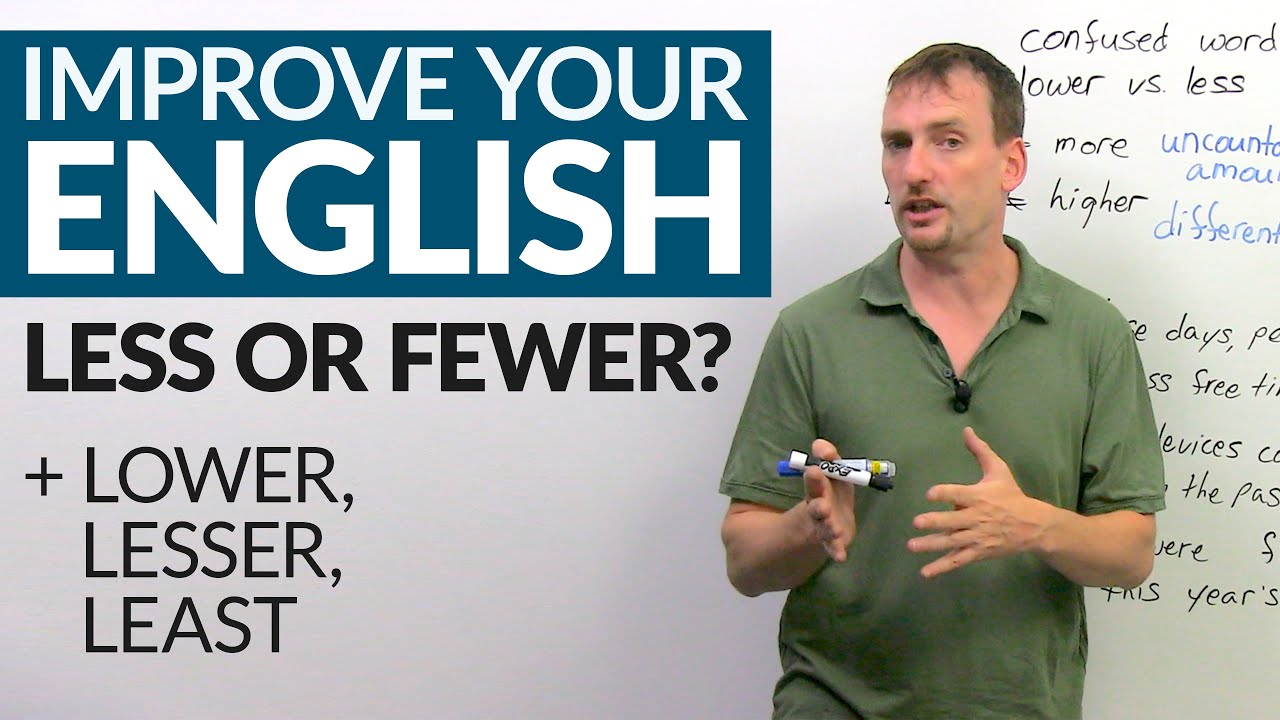 Download How & when to use LESS, FEWER, LESSER, and LEAST in English