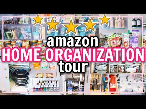 EXTREME ORGANIZATION! BEST AMAZON HOME ORGANIZATION | Alexandra Beuter