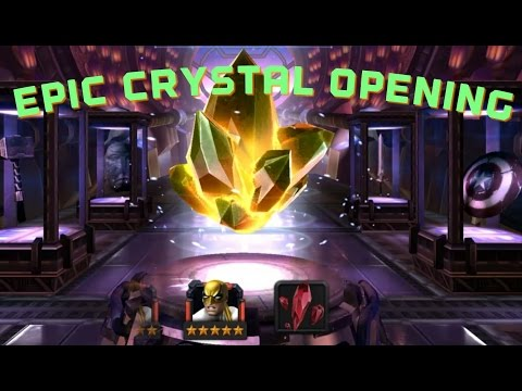 EPIC MASS CRYSTAL OPENING! Going for 5 Star Iron Fist and 4 Stars! Marvel Contest of Champions