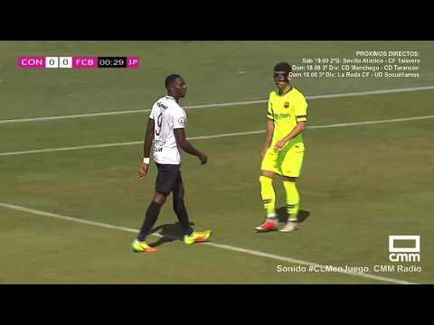 Fútbol 2ªB. UB Conquense - FC Barcelona B (0-3) . Castilla - La Mancha. Media. - 동영상