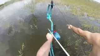 Bowfishing Texas Day 3, Buffalo carp & Alligator Gar