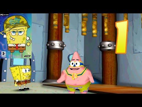 SpongeBob Battle For Bikini Bottom [PC] - Part 1: Downtown Bikini Bottom [4K]