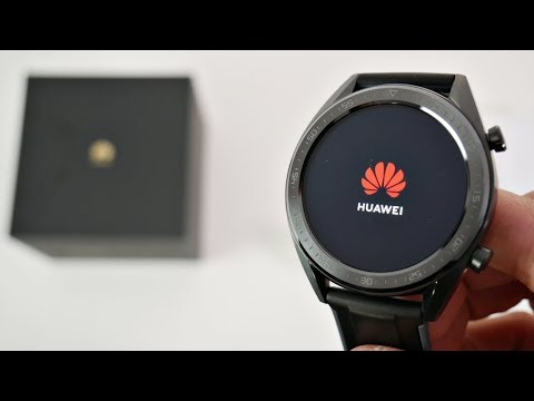 Huawei Watch GT  - AMOLED - 5ATM - 7 Day Battery Life