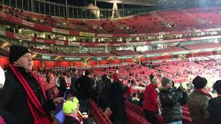 Jämtlandssången på Emirates (ÖFK - Arsenal)