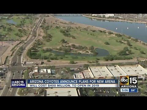 Phoenix Coyotes building new arena in Tempe