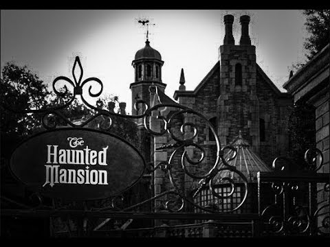 Rainy Disney Day | Haunted Mansion | Space Mountain | Once Upon A Time Projection Show