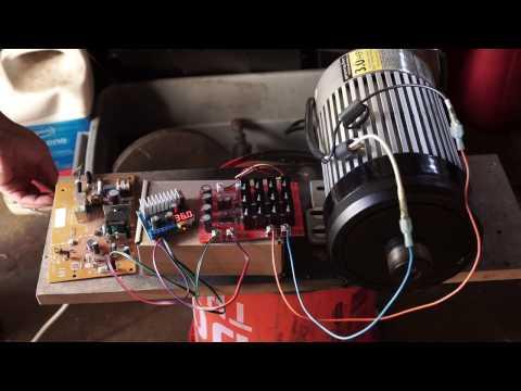 treadmill motor test mc controller 15 02