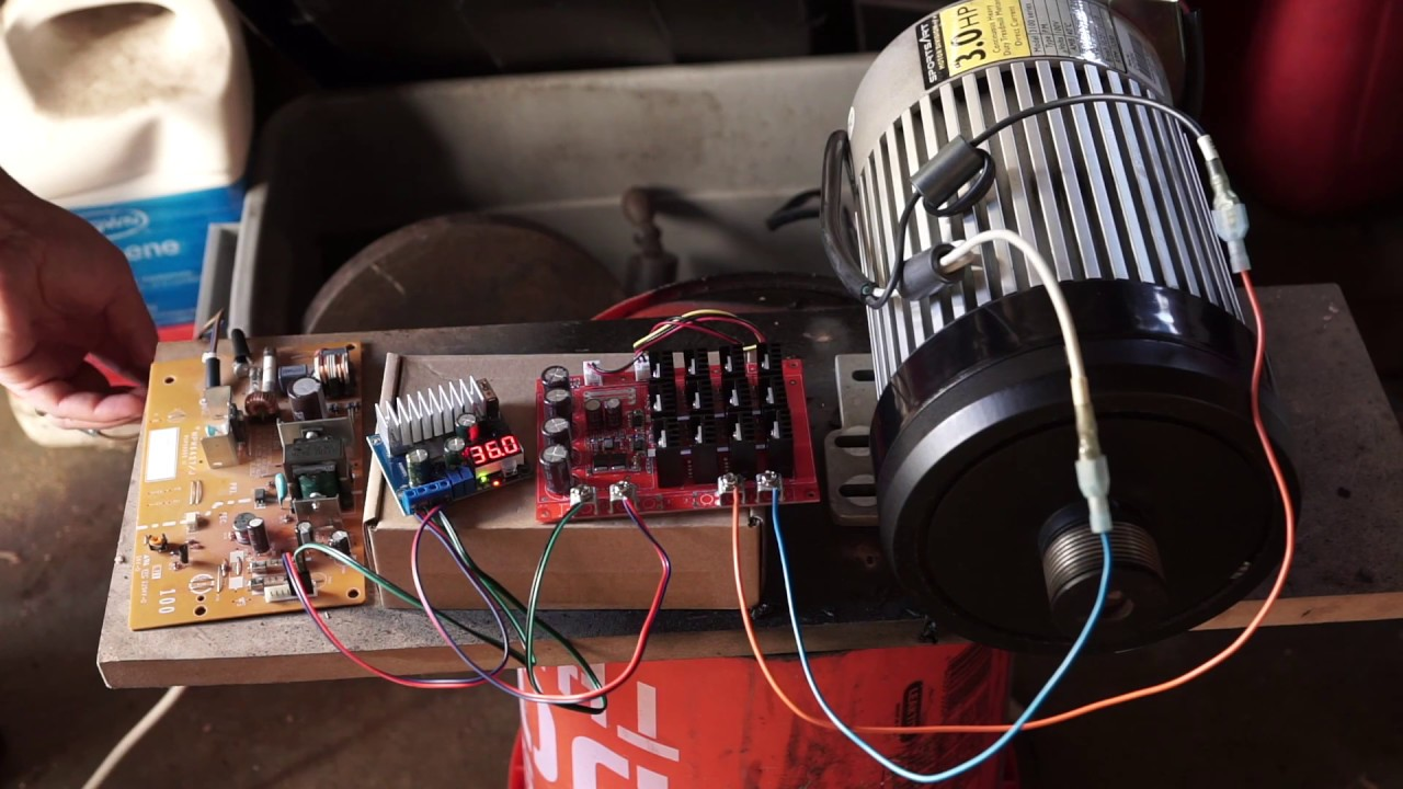 easy treadmill motor wiring with off the shelf parts [ 1280 x 720 Pixel ]