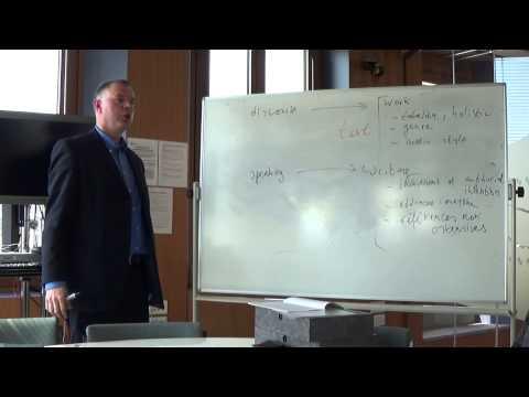 Prof. Henk de Berg on Hermeneutics II (Ricoeur)