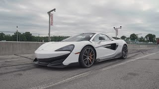 homepage tile video photo for McLaren 600LT at Lightning Lap 2019