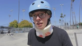 I become a skater boy.