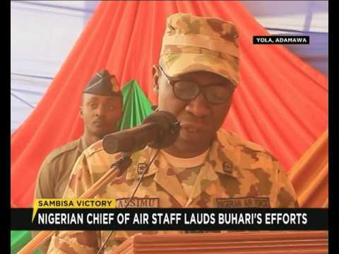 Air Chief commends Nigerian Troops for Sambisa Victory
