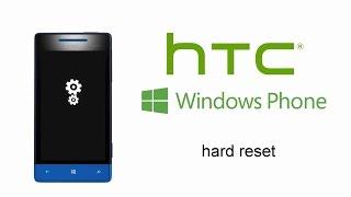 HTC Windows Phone 8S 8X - Hard Reset, Factory Reset, Forgotten Screen Password Pattern Lock