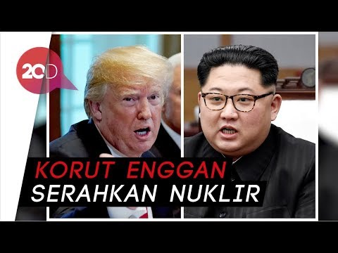 Trump Batalkan Pertemuan Bersejarahnya dengan Kim Jong-un