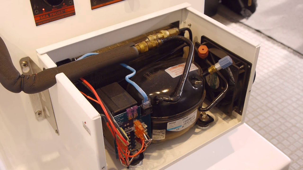 Seafrost 12 Volt Bd Marine Refrigeration Systems Youtube