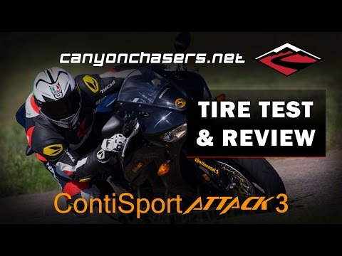 Continental Sport Attack 3 Motorcycle Tire Test and Review