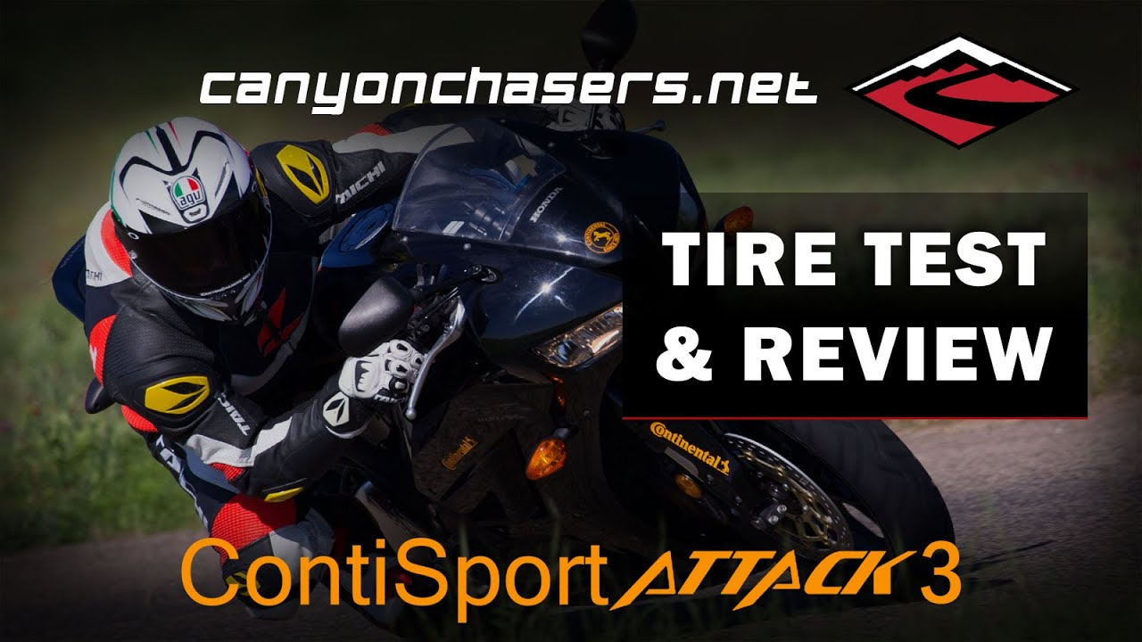 continental sport attack 3 motorcycle tire test and review. Black Bedroom Furniture Sets. Home Design Ideas