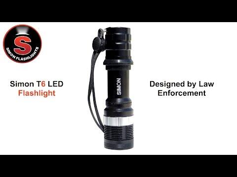 simon-t6-cree-flashlight---adjustable-close-proximity-duty-led-flashlight