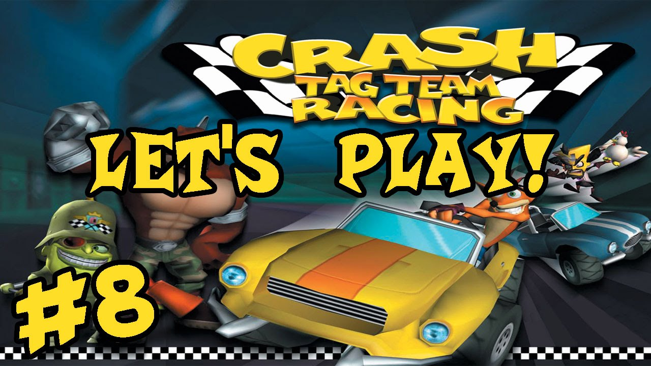 Let's Play: Crash Tag Team Racing: Part 8: Stone In My ...