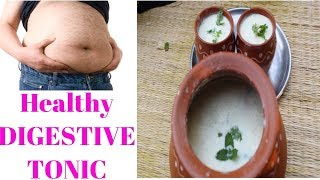 HEALTHY DIGESTIVE TONIC | SIMPLE HOME MADE DRINK |DIGEST ANYTHING YOU EAT | NATURAL DRINK