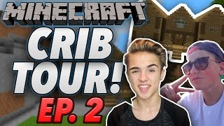 One of Jake Plays's most viewed videos: CRIB TOUR! | (Minecraft Survival) #2