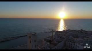 Dawn in Molfetta - L'alba incontra Molfetta-Drone Molfetta