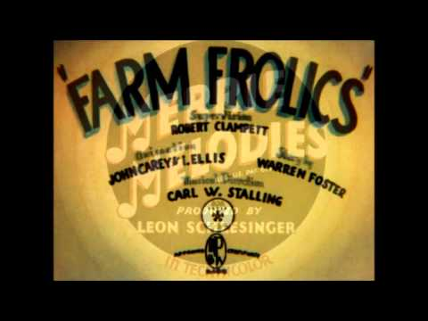 Farm Frolics Original Title Card