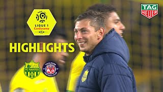 FC Nantes - Toulouse FC ( 4-0 ) - Highlights - (FCN - TFC) / 2018-19