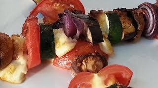 Caribbean Vegetable Kebab Recipe