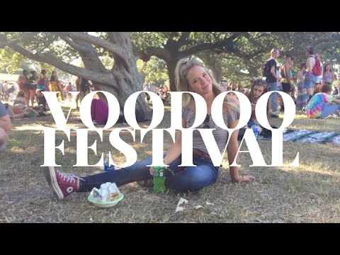 the one with VOODOO FESTIVAL