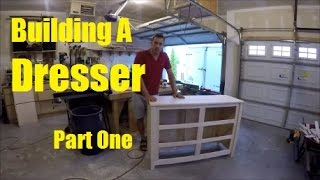 Building A Dresser Part 1 - Top, Sides, & Face Frame