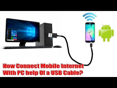 Connect android mobile to pc internet via usb