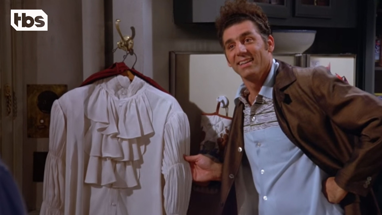 Tis The Season of the Seinfeld Puffy Shirt | suzie gaffney
