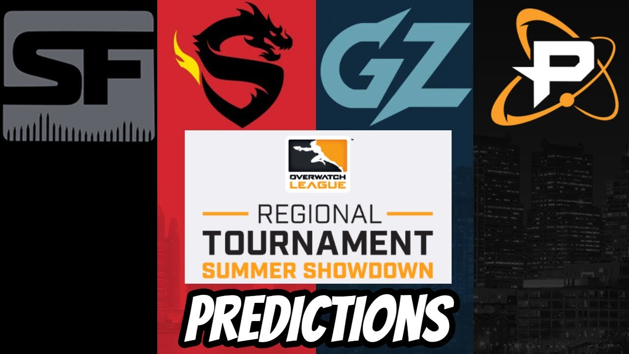 Overwatch League Summer Showdown Tournament Predictions